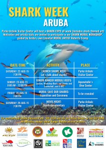 Aruba shark-week-poster